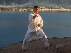 * KJWA Black Belt Board Master Federico Asensio