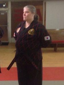 * KJWA Black Belt Board